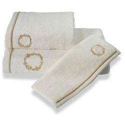 Ręcznik kąpielowy SEHZADE 85x150cm Śmietankowy / złoty haft, 10116