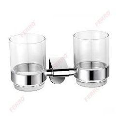 FERRO Szklanka podwójna kubek do mycia zębów AUDREY AD04, AD04