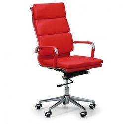 Fotel biurowy kit, czerwony marki B2b partner