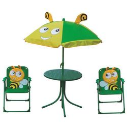 Zestaw dziecięcy stół dwa krzesełka parasol + darmowy transport! marki Jumi