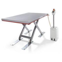 Płaski stół podnośny, seria g, nośność 1000 kg, zakres podnoszenia 80 - 750 mm, marki Flexlift hubgeräte