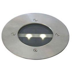 Zestaw 5 nowoczesnych stalowych punktów naziemnych ip44 solarnych - tiny marki Qazqa