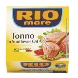 Tuńczyk w oleju słonecznikowym Rio Mare 160 g (przetwór rybny)