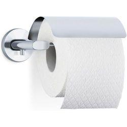 Wieszak na papier toaletowy z klapką Blomus Areo matowy z kategorii Uchwyty na papier toaletowy