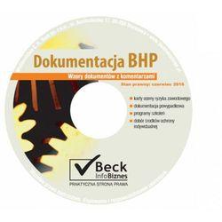 Dokumentacja BHP Wzory dokumentów z komentarzami Płyta CD, książka z kategorii Prawo, akty prawne