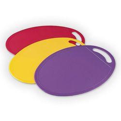 Zestaw kolorowych desek do krojenia marki 4home