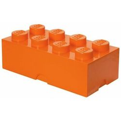 LEGO Pojemnik na klocki 8 4004 pomarańcz (5711938026066)