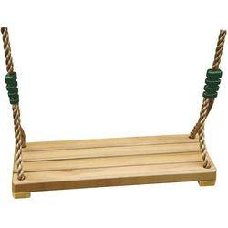 Huśtawka ogrodowa drewniana, do ogrodu i pokoju dziecięcego, wysokość 180 cm