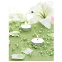 Girlanda perłowa jasno zielona - 1,3 m - 5 szt. marki Ap