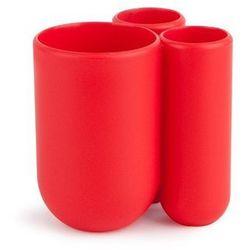 Umbra - Stojak na szczoteczki do zębów Touch - czerwony - DARMOWA DOSTAWA !!! - czerwony - produkt z kategorii- Pozostałe akcesoria łazienkowe