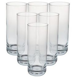 Krosno / casual basic/shot Krosno basic szklanki do napojów 300 ml 6 sztuk