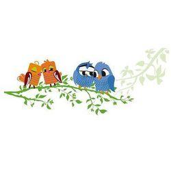 Wally - piękno dekoracji Tablica suchościeralna 125 sowy