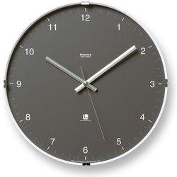 Zegar ścienny North szary, T1-0117-GY