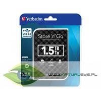 Store'n'Go 1,5TB 2,5'' HDD USB 3.0