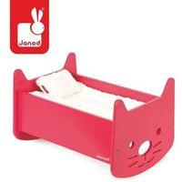 Janod Kołyska dla lalek babycat - zabawki dla dzieci