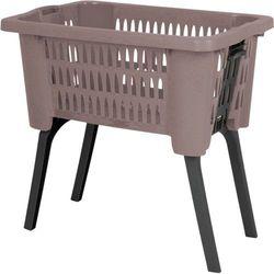 Kosz na pranie, ubrania - pojemnik z nóżkami - 38 L (8719202278286)
