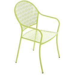 Krzesło ogrodowe metalowe Maja Green (5902425324813)