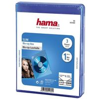 Hama Pudełko  blu-ray slim box (3 sztuki) (4007249514691)