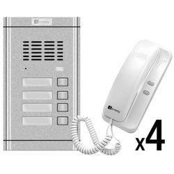Genway Zestaw domofonowy 4-rodzinny WL-02NE-4 WL-02NE-4 - zestaw - Rabaty za ilości. Szybka wysyłka. Profesjonalna pomoc techniczna.