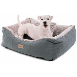 emma, legowisko/kosz dla psa, możliwość prania, antypoślizgowe, oddychające, materac dwustronny, poduszka, rozmiar s (67 x 20 x 59 cm) marki Brunolie