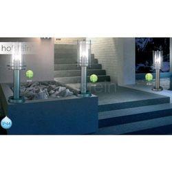 Zewnętrzny lampa stojąca miami 3153 metalowa oprawa ogrodowa ip44 outdoor srebrny marki Globo