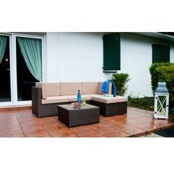 Zestaw mebli ogrodowych TINTO brązowe, ZO.021.001