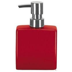 4home Dozownik mydła flakon czerwony,