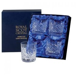 Royal Scot Crystal Szklanki London do Whisky 330ml 4szt., LONB4LT