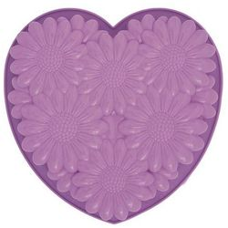 PAV-Forma do ciast/galaretek BOUQUET HEART, fiolet (8029248250468)
