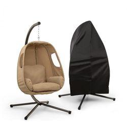 bella donna fotel wiszący hamakowy + pokrowiec zestaw | beżowy marki Blumfeldt