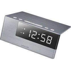 Sencor zegar cyfrowy z budzikiem sdc 4600 wh (8590669229628)