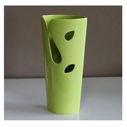 4home Autronic wazon z ceramiki zielony, 27 cm