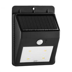 Lightcraft Solarlux zewnętrzna lampa solarna z czujnikiem ruchu 4 LED ciepłe białe światło bezprzewodowa