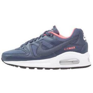 sportswear air max command flex tenisówki i trampki midnight navy/white/dark obsid marki Nike