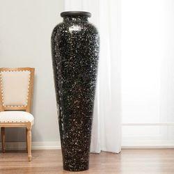 wazon suri czarno-biały, 147 cm, 147cm marki Dekoria