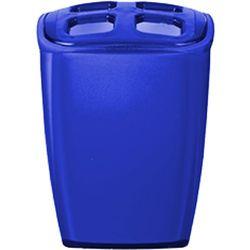 pojemnik na szczoteczki neon, niebieski, 7x6,5x10 cm marki Wenko