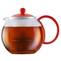Bodum - Zaparzacz do herbaty Assam, czerwony - 1.00 l - czerwony