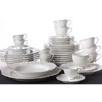 OXFORD KATARINA - Zastawa stołowa obiadowo-kawowa 42 części na 6 osób