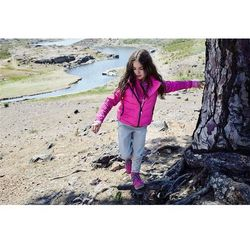 Bluza Polarowa mikroflis Reima JULIENNE różowa wzór z kategorii Pozostała moda i styl