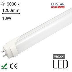 LED T8 120CM 6000K ZIMNY Świetlówka LED zimna 1200mm o mocy 18W 1720 lumenów 6000K (świetlówka)