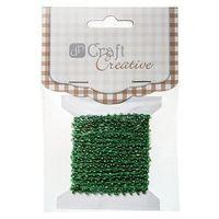Koraliki na sznurku Dalprint CESZ-007/4,5m - zielone