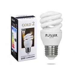 Świetlówka energooszczędna POLUX GOLD 2 mini 8W E27