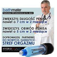 Bathmate hydromax x30 - hydropump do powiększania penisa (niebieska) marki Bathmate (uk)