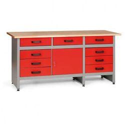 Mars Stół roboczy hobby i z szufladami i szafką
