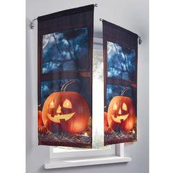 """Dekoracja okienna LED """"Dynia"""" (1 szt.) bonprix brązowo-pomarańczowy z nadrukiem, kolor pomarańczowy"""