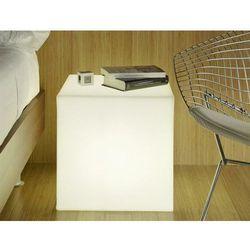 NEW GARDEN lampa ogrodowa CUBY 45 biała - LED (5900000046624)