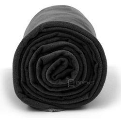 Dr.Bacty XL szybkoschnący ręcznik treningowy - czarny