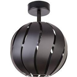 Plafon Sigma Lighting Globus Skos M czarny