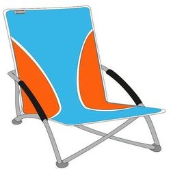 Krzesło turystyczne Abbey Camp - Niebieski (krzesełko wędkarskie)