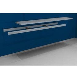 Unbekannt Dodatkowa półka w komplecie z trawersami i półką stalową,szer. 2500 mm